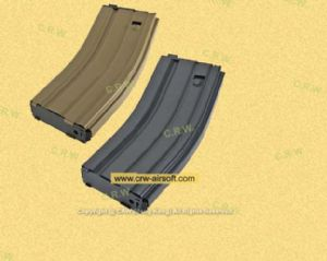 30rd Open Bolt GAS Magazine for M4 / SCAR GBB (Tan or Black) by WE